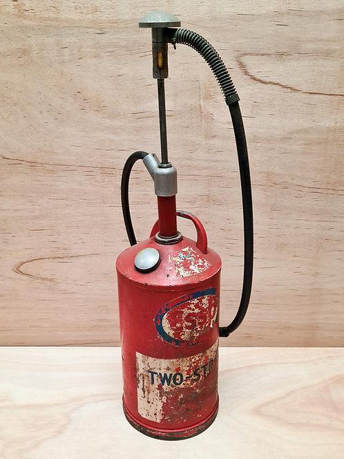 Vintage Esso oil pump