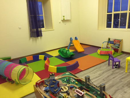 New flooring completed for Aberchirder Playgroup & Toddlers.