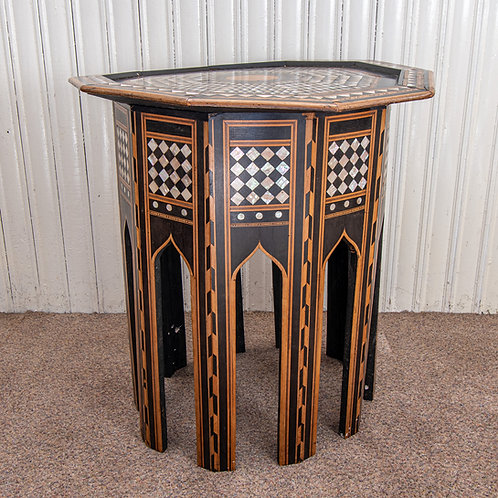 Antique Indian Octagonal Table