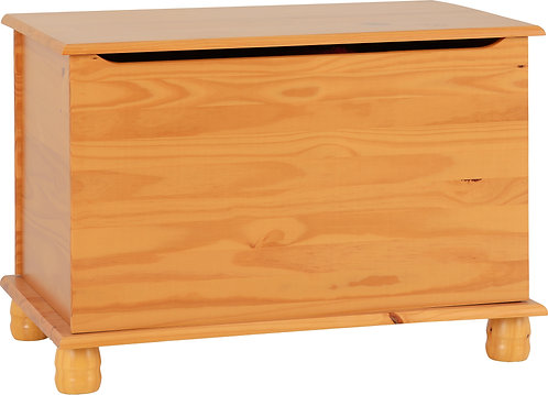Sol Pine Blanket Box