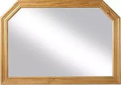 Sol Pine Overmantle Mirror