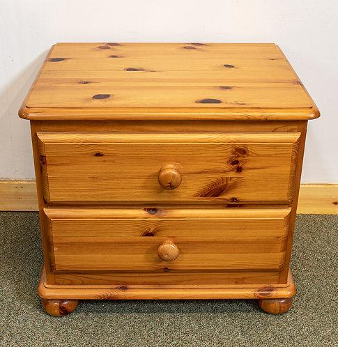 2 Drawers Bedside Cabinet