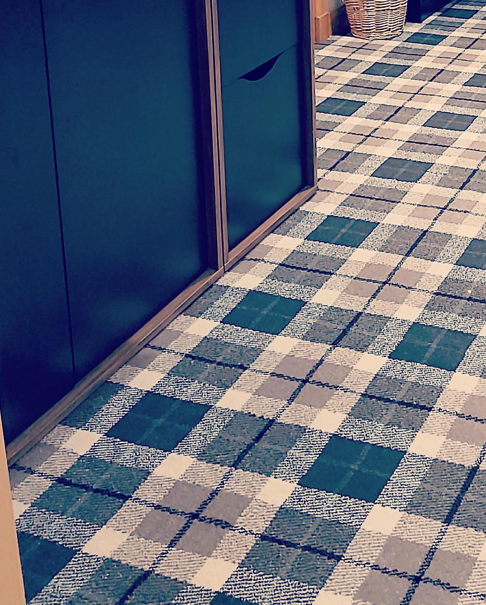 tartan carpet