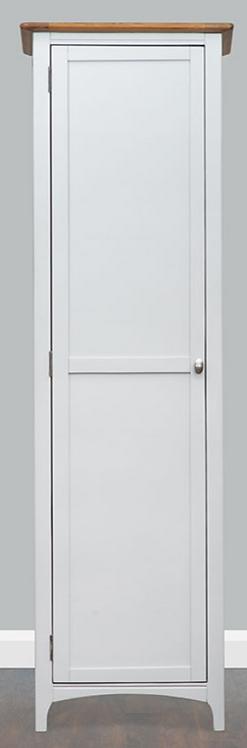 Lagan Grey + Oak Wardrobe Single