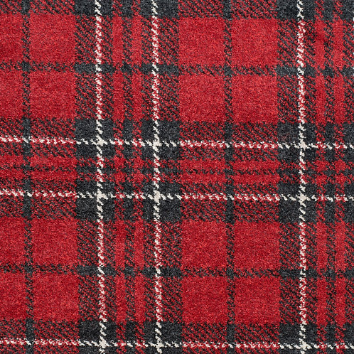 Red Tartan Rug 180cm x 80cm