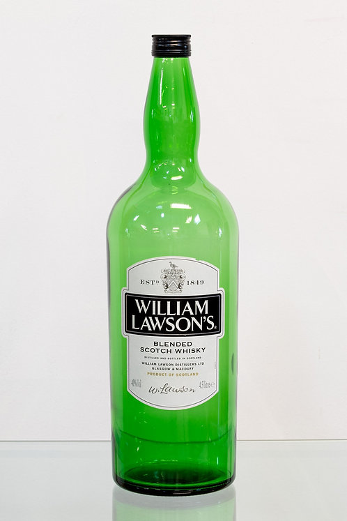 William Lawson 1 Gallon/4.5 L empty whisky Bottle - rare item