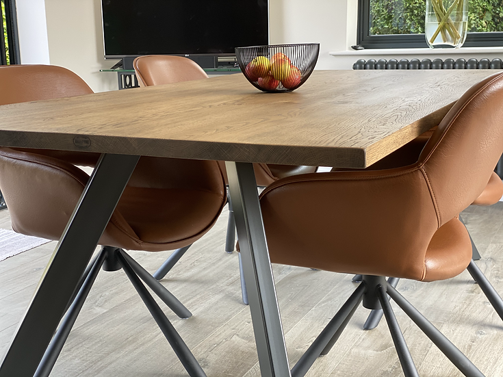 Oak Table Top 100cm Wide - From