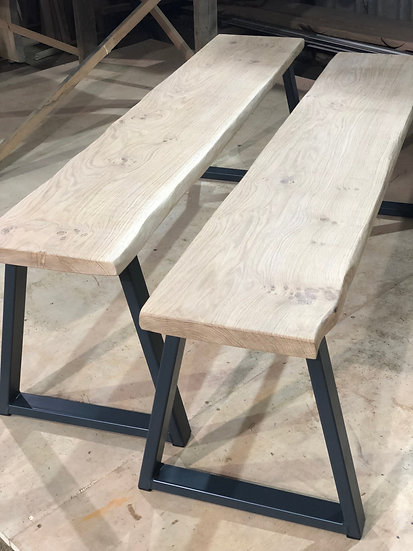 Delta Leg for Benches (pair)
