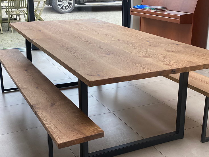 Oak Table Top 120cm Wide - From