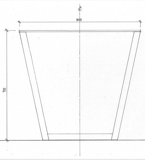 Delta Leg for Tables (pair)