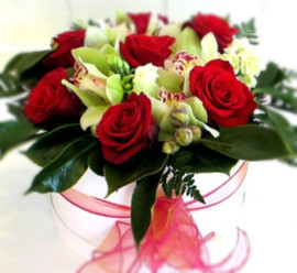 Box-of-roses-and-orchids-by-flowerlove.j