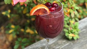 Celebrate National Sangria Day with Cranberry Peach Sangria