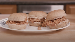 Food Factor: Slow Cooker Barbecue Chicken Sliders
