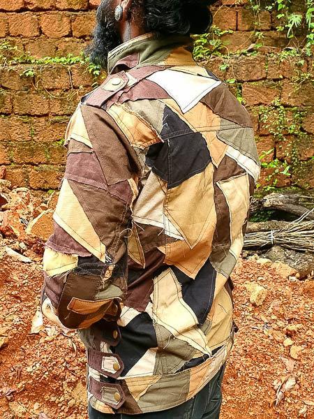 Ribpuller riding jacket Men and Women/'s Biker Jacket Cotton Jacket