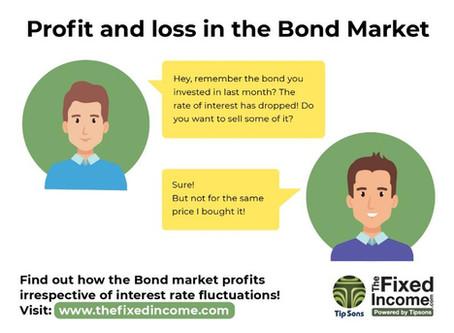 How the Bond Market makes profits, or losses?
