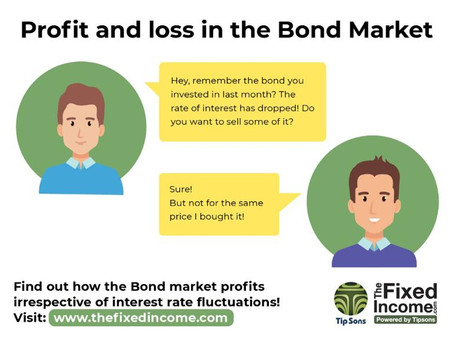 How the Bond Market makes profits, or losses?