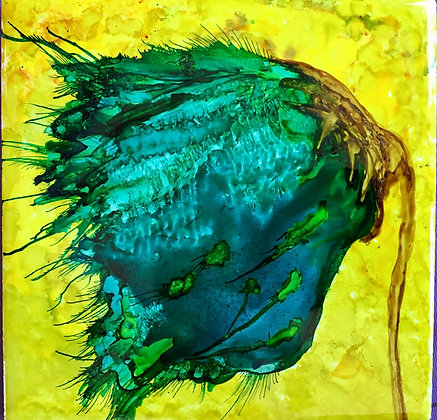 Alcohol Ink Painting Class