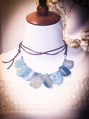 Rustic Leather Necklace Class