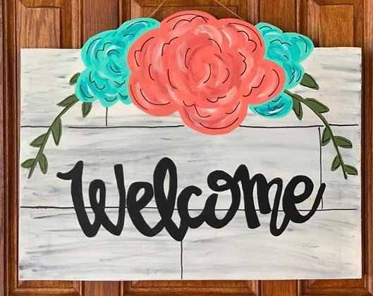 """Summer Welcome"" Door Sign"