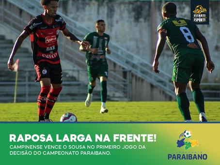 RAPOSA LARGA NA FRENTE NA DECISÃO DO PARAIBANO!