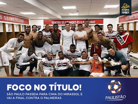 SÃO PAULO GOLEIA E PEGA O PALMEIRAS NA FINAL!