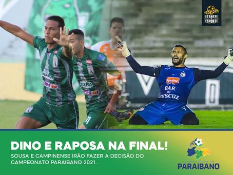 DEFINIDA A FINAL DO CAMPEONATO PARAIBANO 2021!