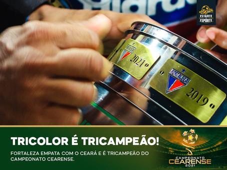 FORTALEZA É TRI-CAMPEÃO CEARENSE DE FORMA INVICTA!