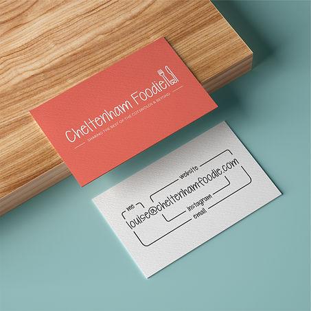 Cheltenham Foodie Business Cards