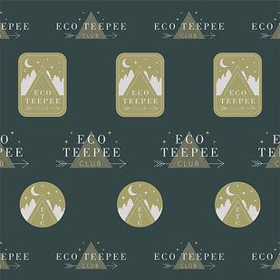 Eco Teepee Club Logo Variations