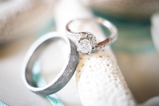 Anna and August Wedding Rings