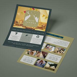Eco Teepee Club Leaflet