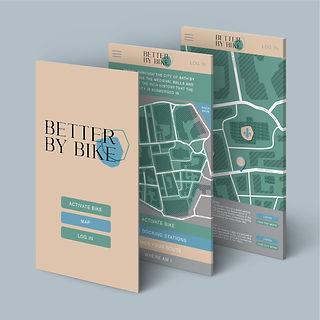 Better By Bike App Design