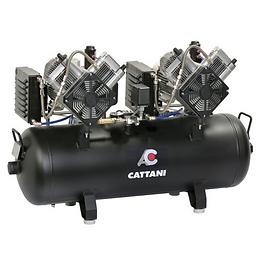 Cattani AC 400 -  2 Cilinder Twinhead Compressor
