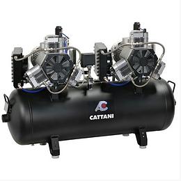 Cattani AC 600 - 3 Cilinder Twinhead Compressor