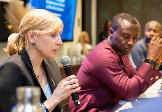 Michelle van Gilder, The Africa Narrative; Kofi Appenteng, The Africa-America Institute