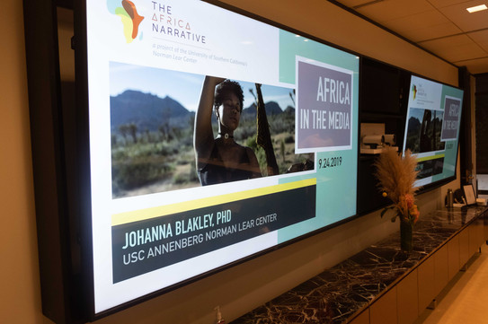 The Africa Narrative is a project of University of Southern California's Norman Lear Center
