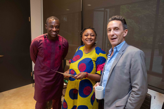 Kofi Appenteng, The Africa-America Institute;Jean-Paul Warmoes, King Baudouin Foundation US