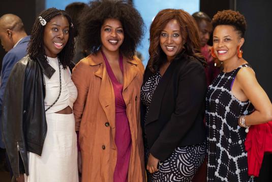 Dayo Olopade, YouTube; Cherae Robinson, Tastemakers Africa; Menna Demessie, Congressional Black Caucus Foundation; Gina Paige, African Ancestry