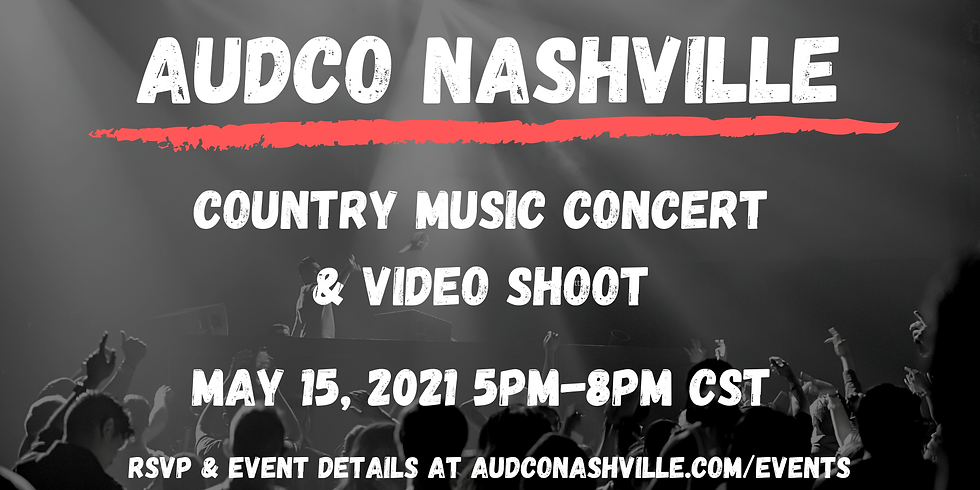 Live Music + Filming Event