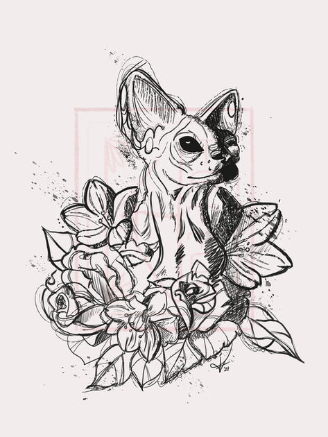 Sphynx floral