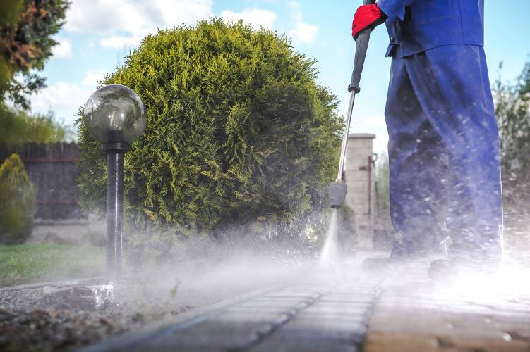 Residential + Commercial Power washing