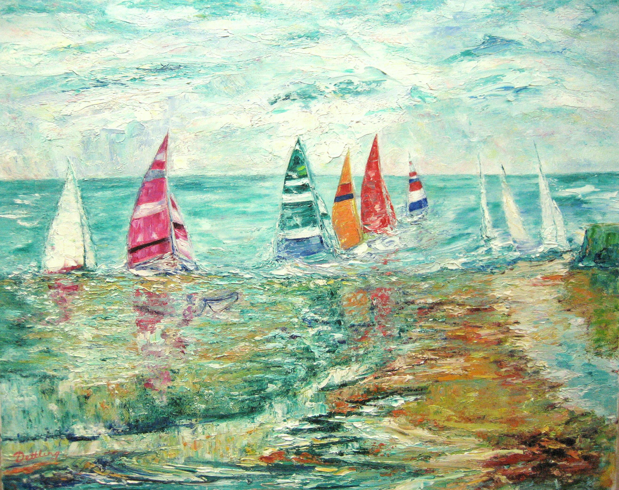 The Race 24x30