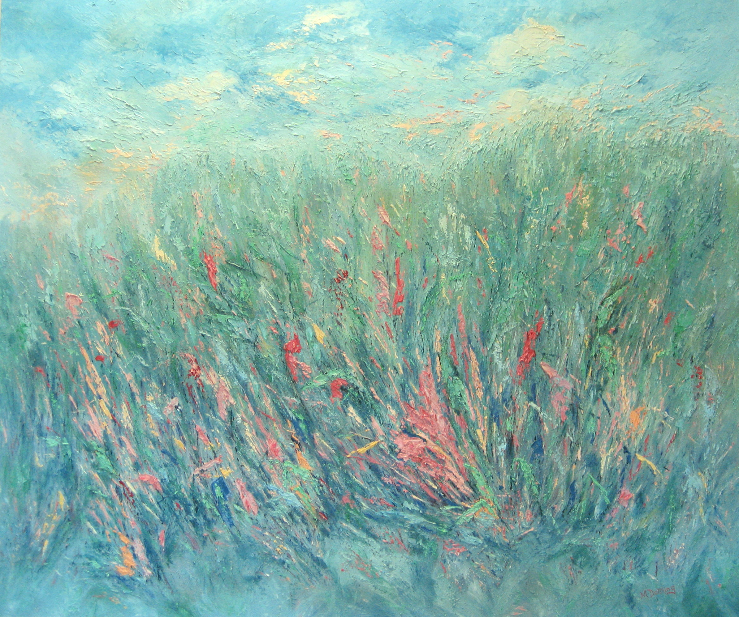 Wind in the Meadow 30x36