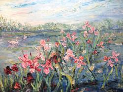 Irises 36x48