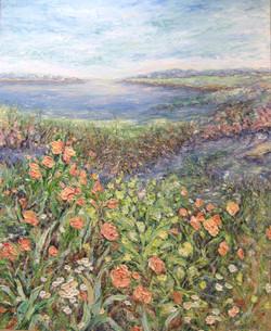 Wetlands in Bloom II 44x36
