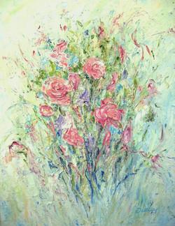 Pink Bouquet 28x22 2