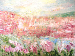 Pink Mountain 30x40