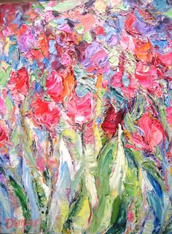 Tulips 14 x 11