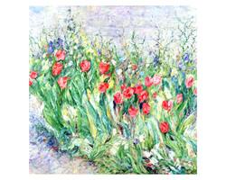 Tulip March 40x40