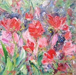 Tulips 8x8